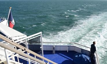 French ferry operators will benefit from a wage tax refund of EUR 30 million. © Philippe Holthof