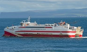 Pentland Ferries competes with NorthLink's Scrabster-Stromness service © Frank Lose