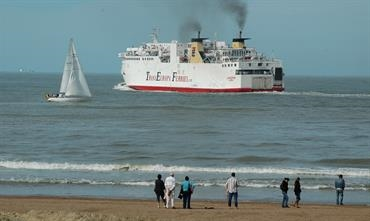 Ferry operations between Ostend and Ramsgate stopped in 2013 © Philippe Holthof