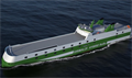 Twelve GG5G Class ro-ros will be built for the Grimaldi Group, three of which will go to Finnlines © Grimaldi Group