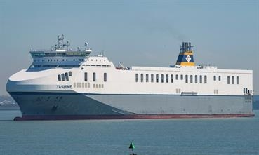 CLdN/Cobelfret operates a short-sea ro-ro fleet of about 20 ships from its Zeebrugge and Rotterdam hubs. © Frank Lose