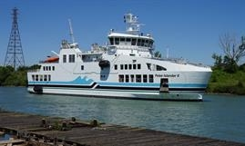 PELEE ISLANDER II will replace PELEE ISLANDER after the summer © Ontario Ministry of Transportation