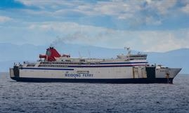 GOLDEN BRIDGE was Weidong Ferry's NEW GOLDEN BRIDGE II prior to being acquired by A-Ships Management © Ourania Kosmatou