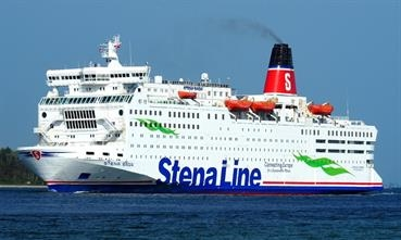 Stena RoRo confirmed to Shippax that STENA SAGA could emerge as a fully class-compliant hospital ship at fairly short notice with a conversion time of about two weeks. © Peter Therkildsen