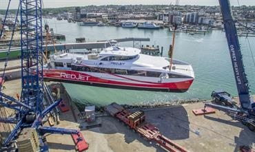 RED JET 7 should enter service in time for Cowes Week © Red Funnel