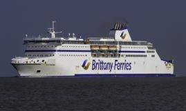 Brittany Ferries' new Cherbourg-Rosslare route will initially be operated by CAP FINESTERE. © Maritime Photographic