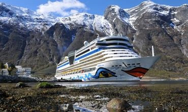 AIDA Cruises will offer fjord cruises also post 2025 © Frank Behling