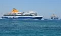 Greek ferry ticket prices risk to soar following next year's introduction of the 0.5% sulphur cap © Philippe Holthof