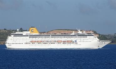 COSTA neoRIVIERA will leave the Costa Cruises fleet at the end of next month © Marc Ottini