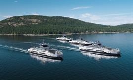 Damen Shipyards Group will build four more Island Class hybrid-electric double-enders for BC Ferries © BC Ferries