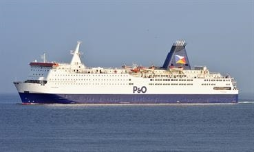 PRIDE OF BRUGES will temporarily replace NORSKY on the Zeebrugge-Hull route. © Marc Ottini
