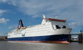 PRIDE OF YORK has also adopted the new P&O Ferries house style - © P&O Ferries