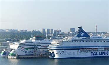 Tallink carried a record number of passengers last month © Kai Ortel