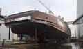 BASTØ VII launching © Sefine Shipyard