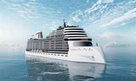 The LNG-powered residential cruise ship NARRATIVE is slated for delivery in 2024. © Storylines