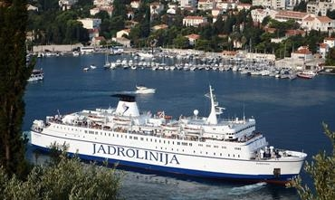 Barska Plovidba may extend the contract with Jadrolinija to operate the Bar-Bari route on their behalf © Neven Jerkovic