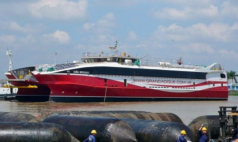 Trinidad & Tobago's new GALLEONS PASSAGE leaves China for ...