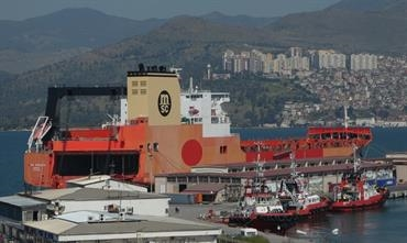 MSC COBALTO and MSC TITANIO will no longer serve MSC's WAF ro-ro service © Selim San