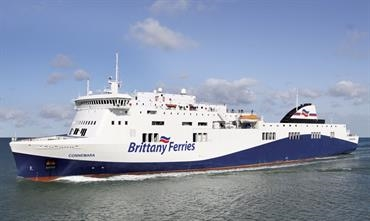 Brittany Ferries is almost ready to start its new direct Ireland-Spain service © Brittany Ferries