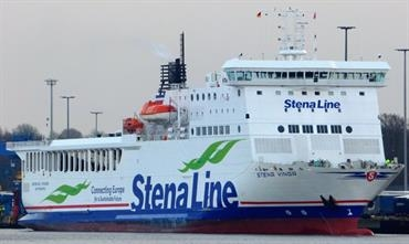 Stena Line is further increasing its footprint on the Travemünde-Liepaja route with the introduction of STENA VINGA. © Sebastian Ziehl