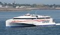 The Austal-built CONDOR LIBERATION is one of four vessels operated by Condor Ferries © Kai Ortel