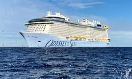 Later this spring ODYSSEY OF THE SEAS will debut in the Eastern Mediterranean, being homeported in Haifa. © Meyer Werft