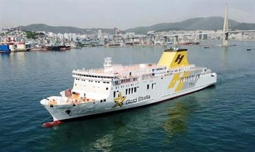 HANIL GOLD STELLA will be introduced between Yeosu and Jeju on 29 June. © Hanil Express
