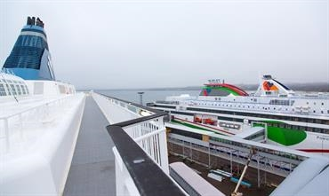 Tallink carried 57% of all passengers travelling through Tallinn © Marko Stampehl