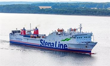 On their way from Liepaja to Travemünde, STENA GOTHICA and URD will make a weekly intermediate call at Karlskrona. © Marko Stampehl