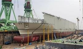 Ahead of the introduction of  two LNG-powered H5 Class ro-ros under construction at Hyundai Mipo Dockyard, CLdN is chartering in tonnage to further boost capacity and frequency on its Continent-Ireland services. © CLdN