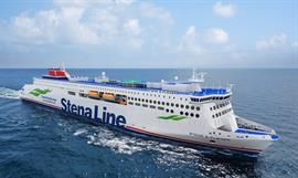 Stena Line's lengthened E-Flexers will have a shore power connection, guaranteeing zero emissions in port. © Stena Line