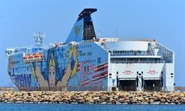 NURAGHES will be supplemented by a freight-only ferry on the Genoa-Porto Torres link © Marc Ottini