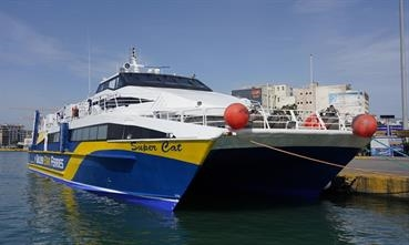 SUPERCAT was acquired in late 2017 and missed the 2018 season due to technical issues © George Giannakis