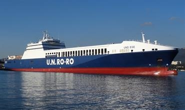 DFDS discontinues its Istanbul-Toulon route, a service it inherited when taking over U.N. Ro-Ro © Jean-Pierre Fabre