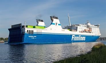 NORDLINK will be renamed FINNSWAN for her new role on the Sweden-Finland route © Marko Stampehl