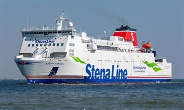 STENA NORDICA has strengthened the Karlskrona-Gdynia route © Marko Stampehl
