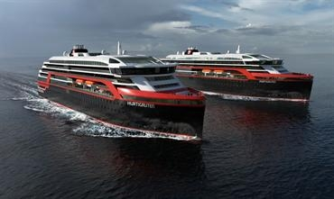 Hurtigruten has joined an investment group to safeguard Kleven Shipyard from bankruptcy © Hurtigruten