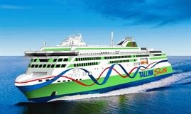 The new 'Tallink Shuttle' will be a further evolution of the 2017, Meyer Turku-built MEGASTAR © Tallink Grupp