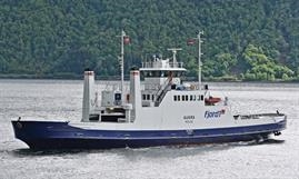 The 1978-built AUKRA is one of the ferries to be replaced by new tonnage © Uwe Jakob