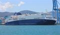 NOVA STAR may reportedely be sub-chartered to Trasmeditteranea - © Richard Seville