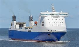 STENA FORETELLER has been chartered for deep-sea ro-ro service to West Africa. © Christian Costa