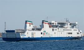 MESSINA is the benchmark for RFI's new railway ferry © Frank Lose