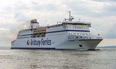 Portsmouth remains Brittany Ferries' premier port of call © Maritime Photographic