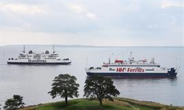 HH Ferries Group had a good load factor during Q1 © Kai Ortel