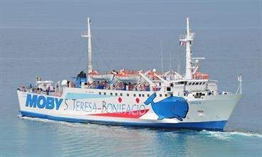 GIRAGLIA will operate a year-round service between Santa Teresa di Gallura and Bonifacio © Marc Ottini