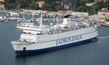 Jadrolinija's DUBROVNIK will call at Bar starting May 18 - © Neven Jerkovic