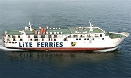 The heavily converted LITE FERRY 18 was originally built as BAO DAO 8 © Lite Ferries