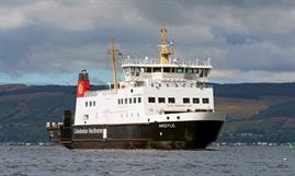 CalMac has stopped taking online bookings for all its services for the next four months. © Maritime Photographic