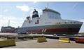 A 'new' BELGIA SEAWAYS for DFDS - the former SCHIEBORG now flies the Lithuanian flag © DFDS