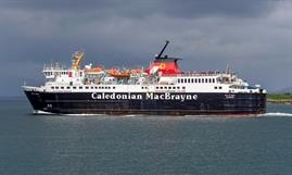 The 1988-built ISLE OF MULL is one of the older vessels in the CalMac fleet © Maritime Photographic